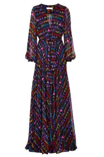 4da51d3c3 Vestido longo e de manga longa, tendência? | Dresses | Vestido longo ...