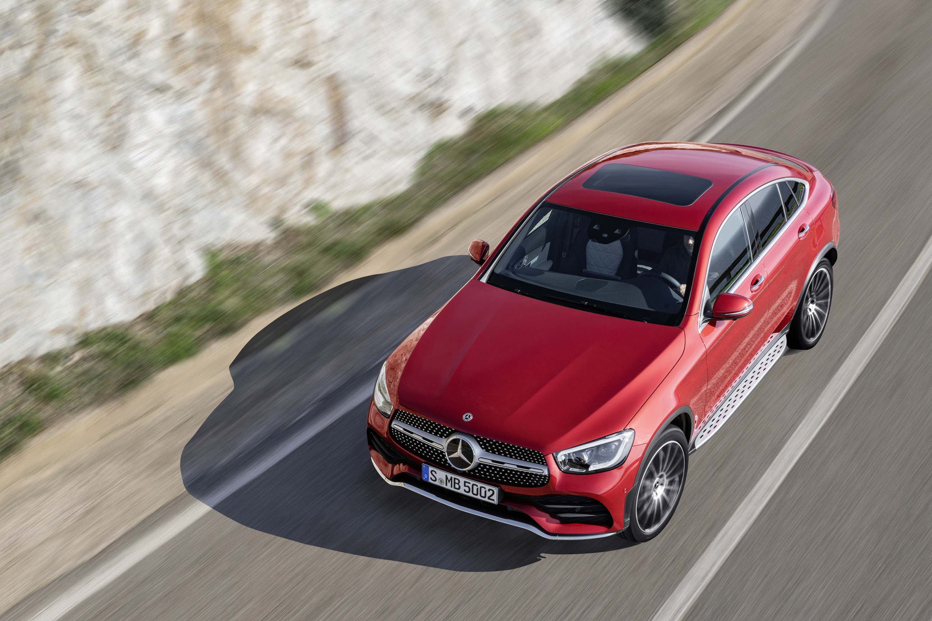 2020 Mercedes Benz Glc Coupe Unveiled Mercedes Benz Glc Coupe