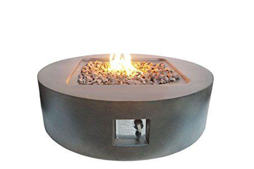 Teva Patio Furniture Fprb Round Firepit In Brown Flintcol Https Www Amazon Com Dp B01dv5ji1c Ref Cm Sw R Pi Dp U X 9 Fire Pit Propane Fire Pit Gas Firepit