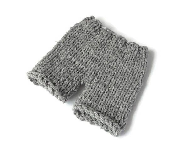 Knit diaper cover newborn shorts photo prop diaper cover knit ...