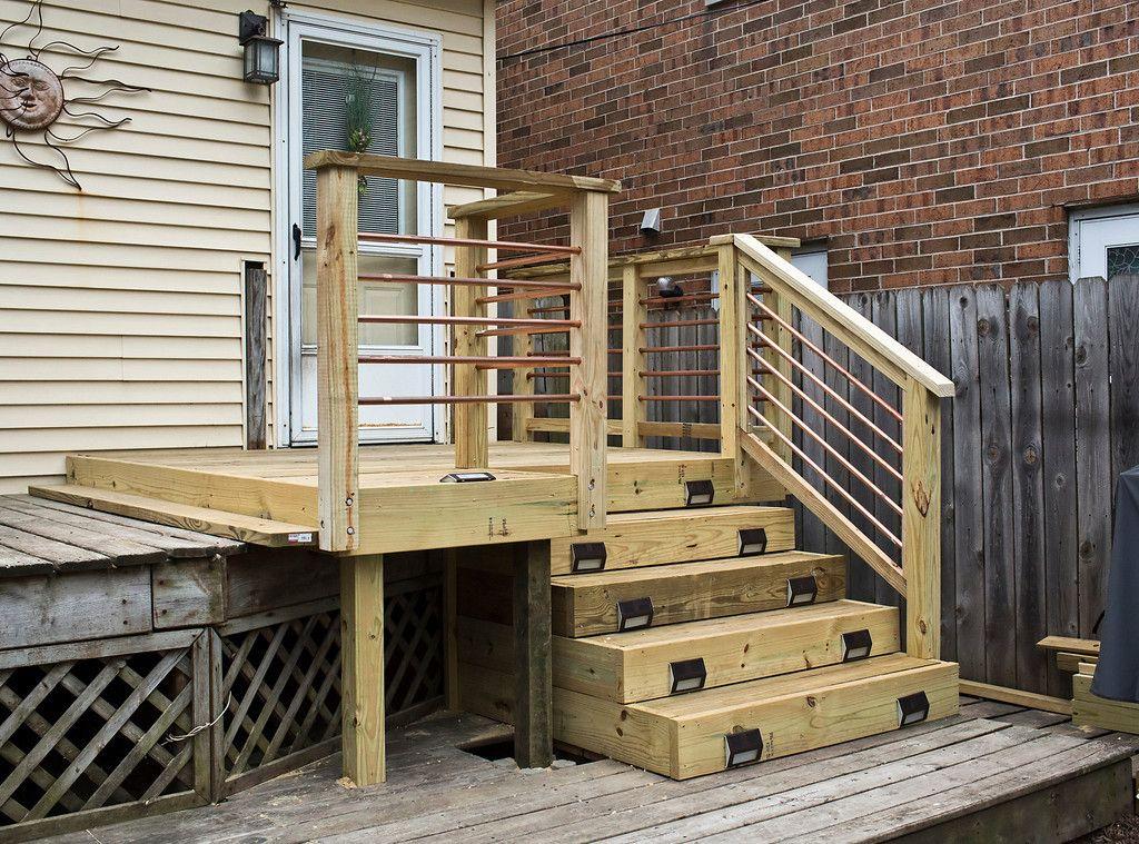 Garden U0026 Patio: Horizontal Deck Railing: The Advantages And Disadvantages  Furniture For Patio Patio With Horizontal Fence System Wood Horizontal  Railings