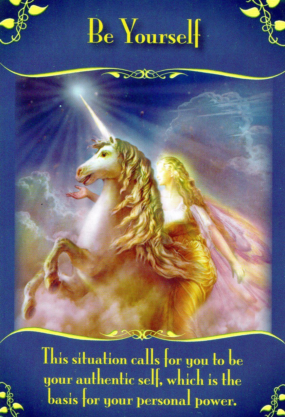 Be yourself magical messages from the fairies angel