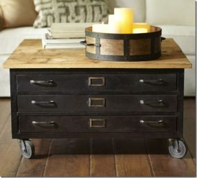 Diy The Pottery Barn Knock Off Coffee Table