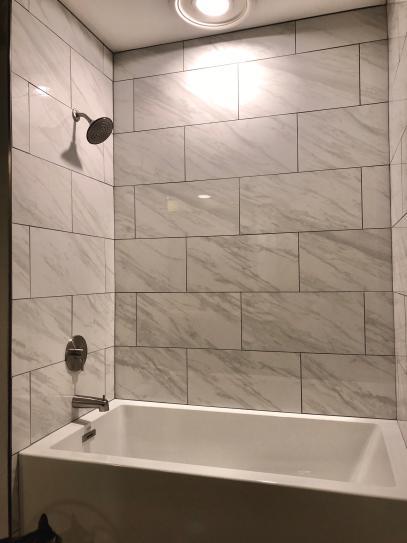 Msi Kolasus White 12 In X 24 In Polished Porcelain Floor And Wall Tile 16 Sq Ft Case Nhdkolwhi1224p The Home Depot Bathroom Wall Tile Shower Wall Tile Large Shower Tile