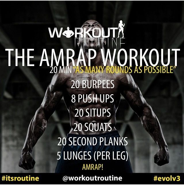 Crossfit Workout Routines: Amrap Workout, Workout