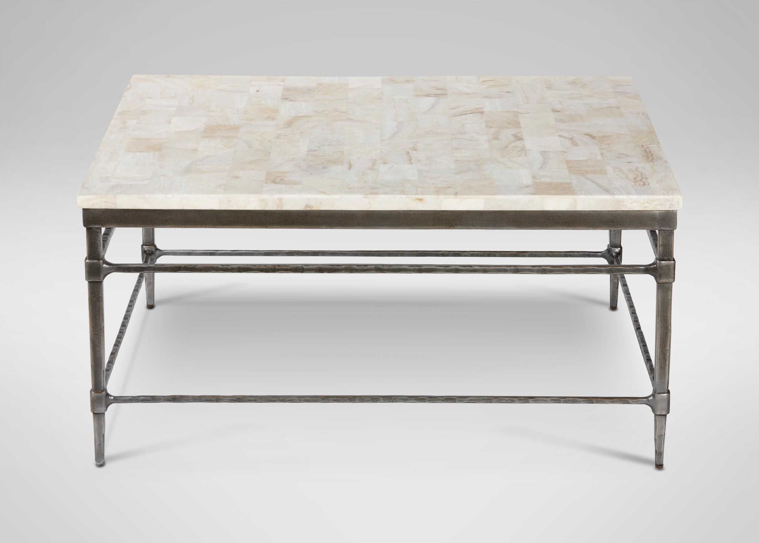 Vida Square Stone Top Coffee Table Coffee Tables Coffee Table Square Square Marble Coffee Table Coffee Table