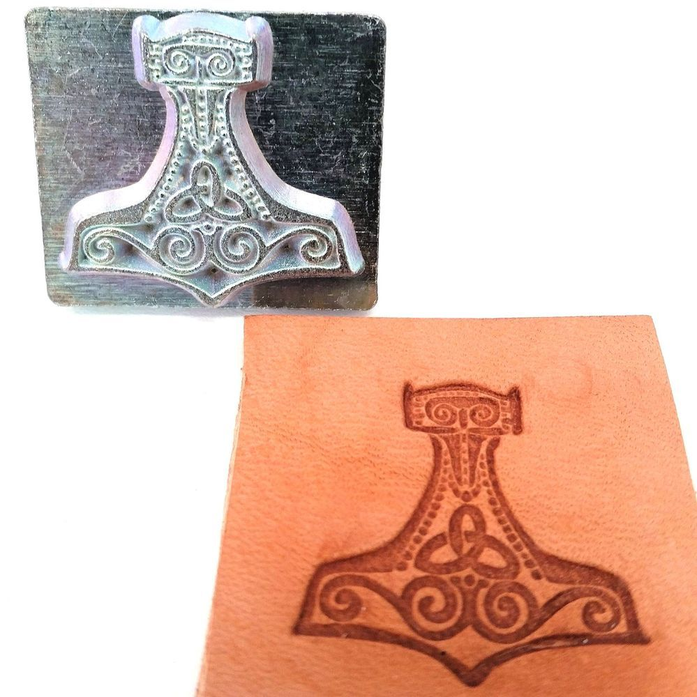 Mjolnir 3D Stamp 8676-00 by Tandy Leather