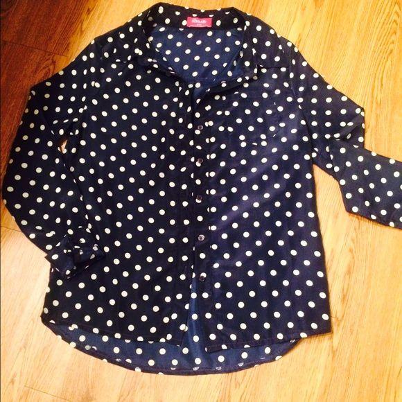 Tops - Polka dot shirt