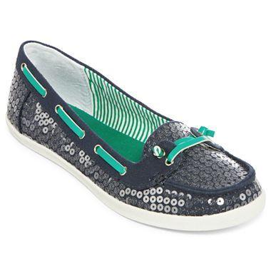 Arizona® Harbor Sequin Boat Shoes