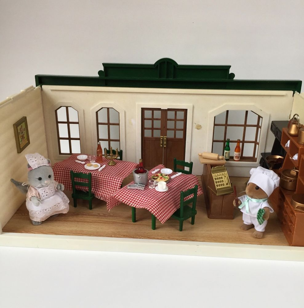 Sylvanian Families Bedroom Furniture Set Vintage Sylvanian Families Dolls House Miniature Sewing Machine