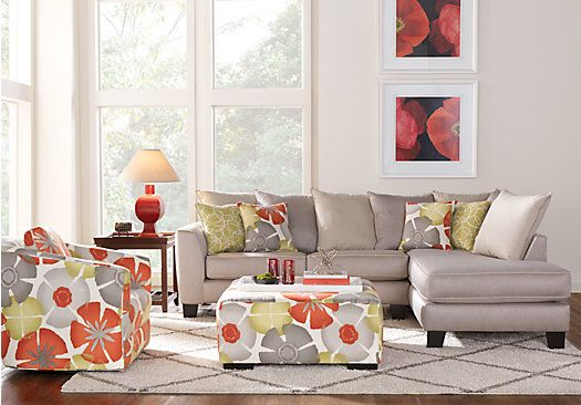 Redan Sand 3 Pc Sectional Living Room 99999 Find affordable