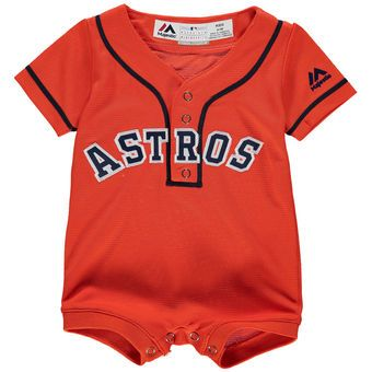 best service b4a28 fc71f Newborn & Infant Houston Astros Majestic Orange Alternate ...