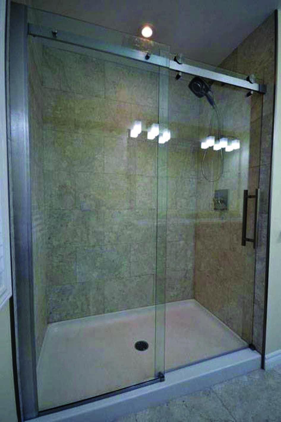 Fibergl Shower
