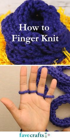 Photo of How to Finger Knit
