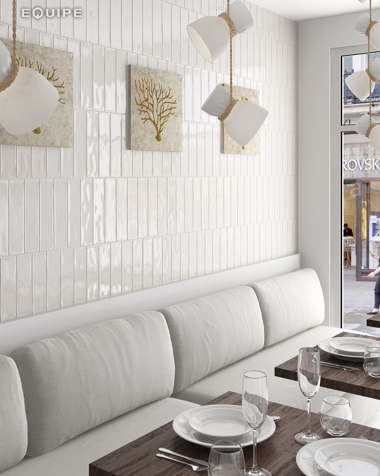 Masía Cream 7,5x30 | Azulejo vertical | Pinterest