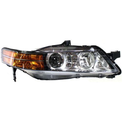 2007-2008 Acura TL Head Light RH, Lens And Housing, Base