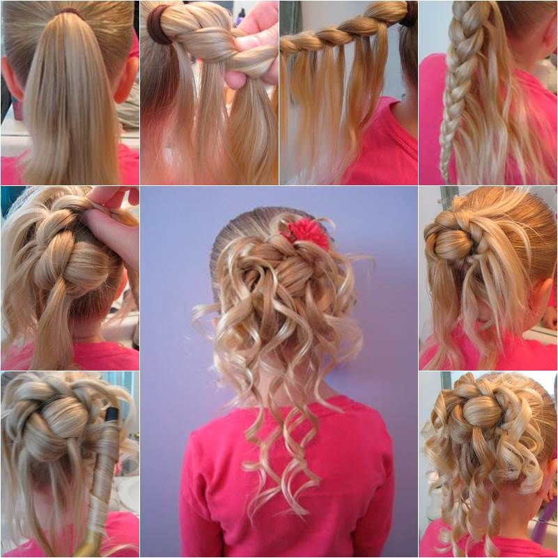 How to Make Cute Hairstyle for Girls DIY Tutorial Hair