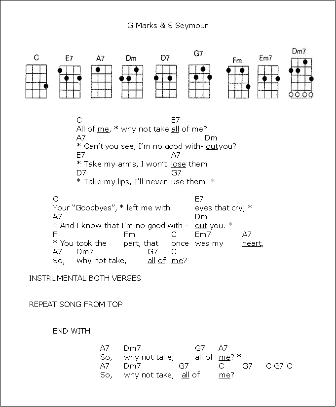 All Of Me Guitar Stuff Pinterest Ukulele Ukulele Songs And Guitar