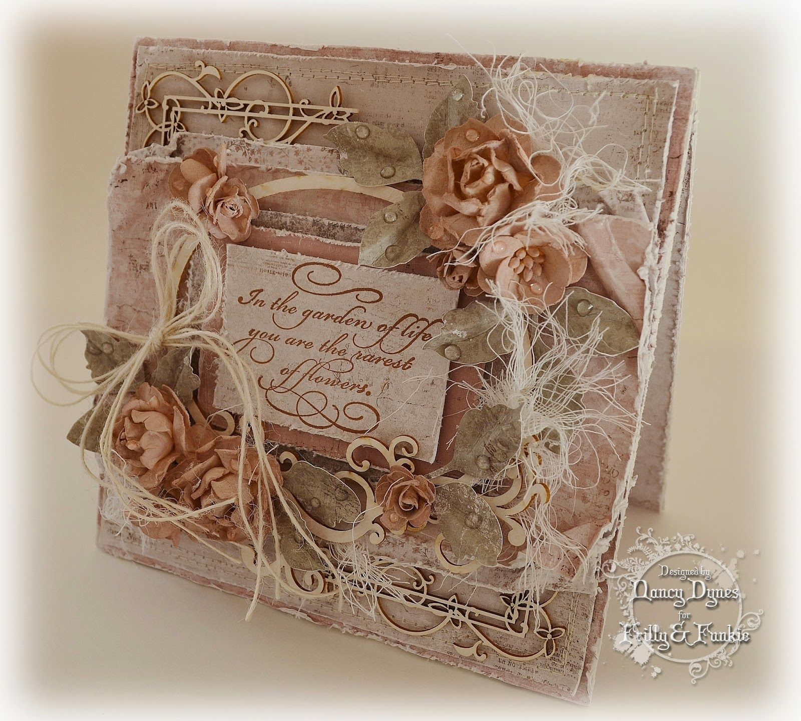 anything goes nancy dynes tattered treasures challenge anything goes cards scrapbook. Black Bedroom Furniture Sets. Home Design Ideas