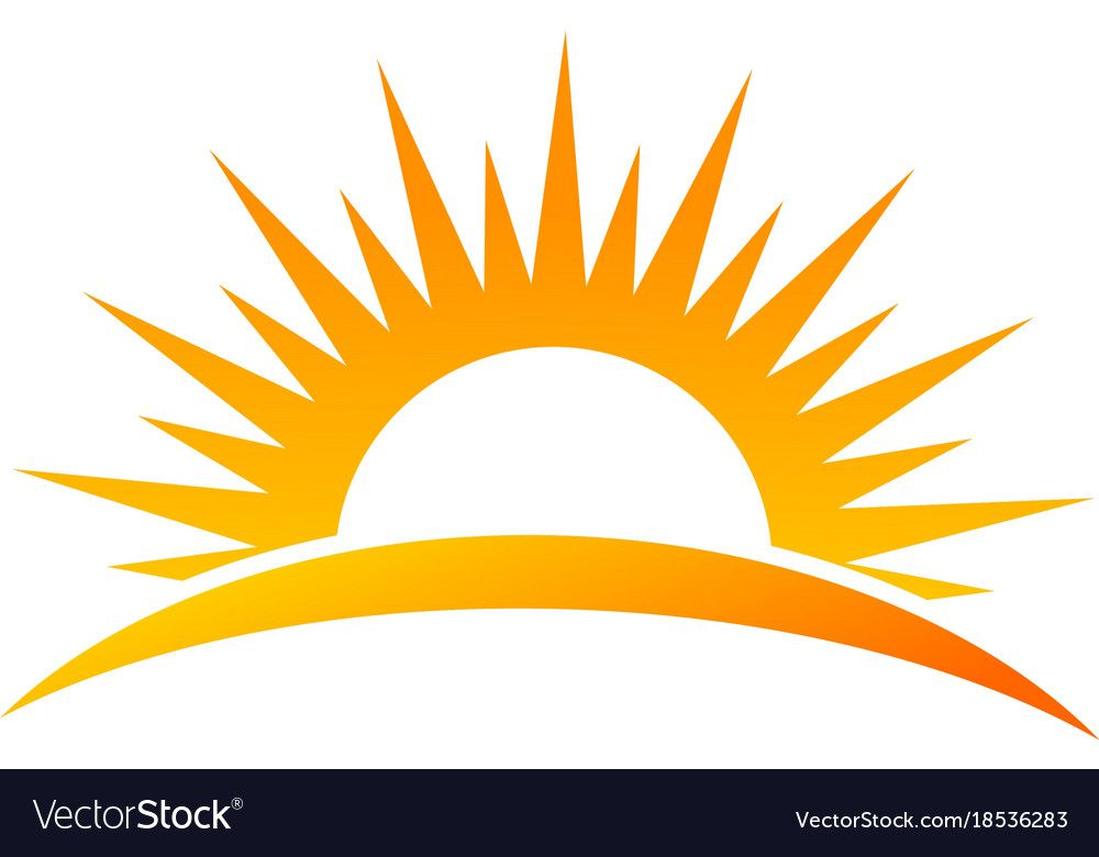 Sun Rise Logo Download A Free Preview Or High Quality Adobe Illustrator Ai Eps Pdf And High Resolution Jpeg Vers Sun Clip Art Sunrise Logo Lotus Flower Logo