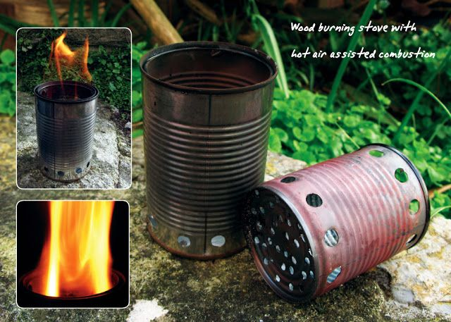 The outdoor lab homemade bushbuddy ultra wood burning for Diy camp stove