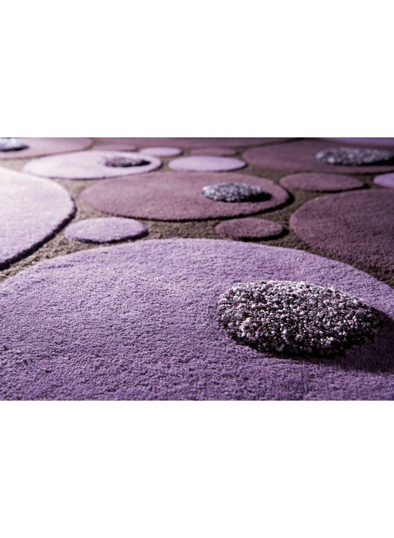 magnifique tapis rond violet | Décoration française | Outdoor decor ...