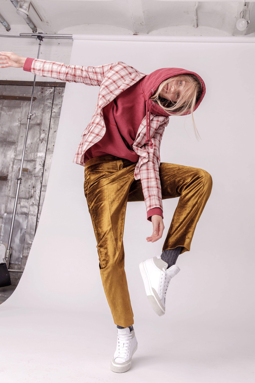 Red flannel 2018  Rag u Bone Fall  ReadytoWear Fashion Show Collection