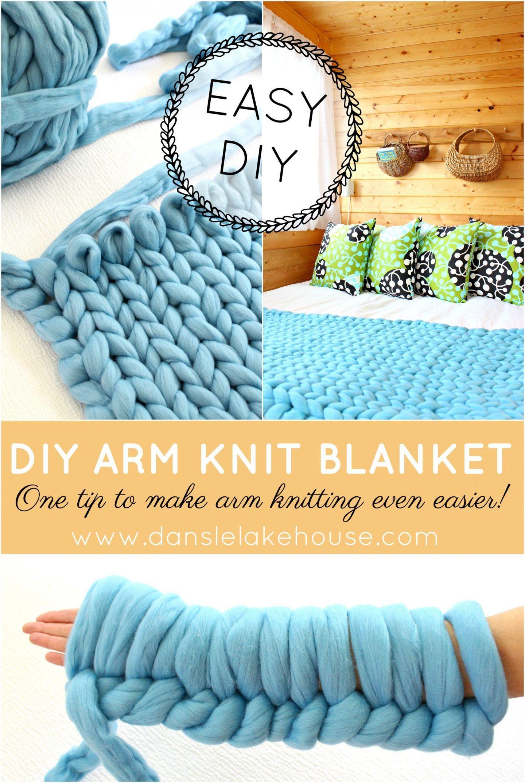 Diy Arm Knit Blanket Arm Knitting Blanket Diy Arm Knitting