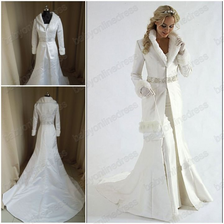 Winter wedding dress cape the image kid for Winter wedding dresses for sale