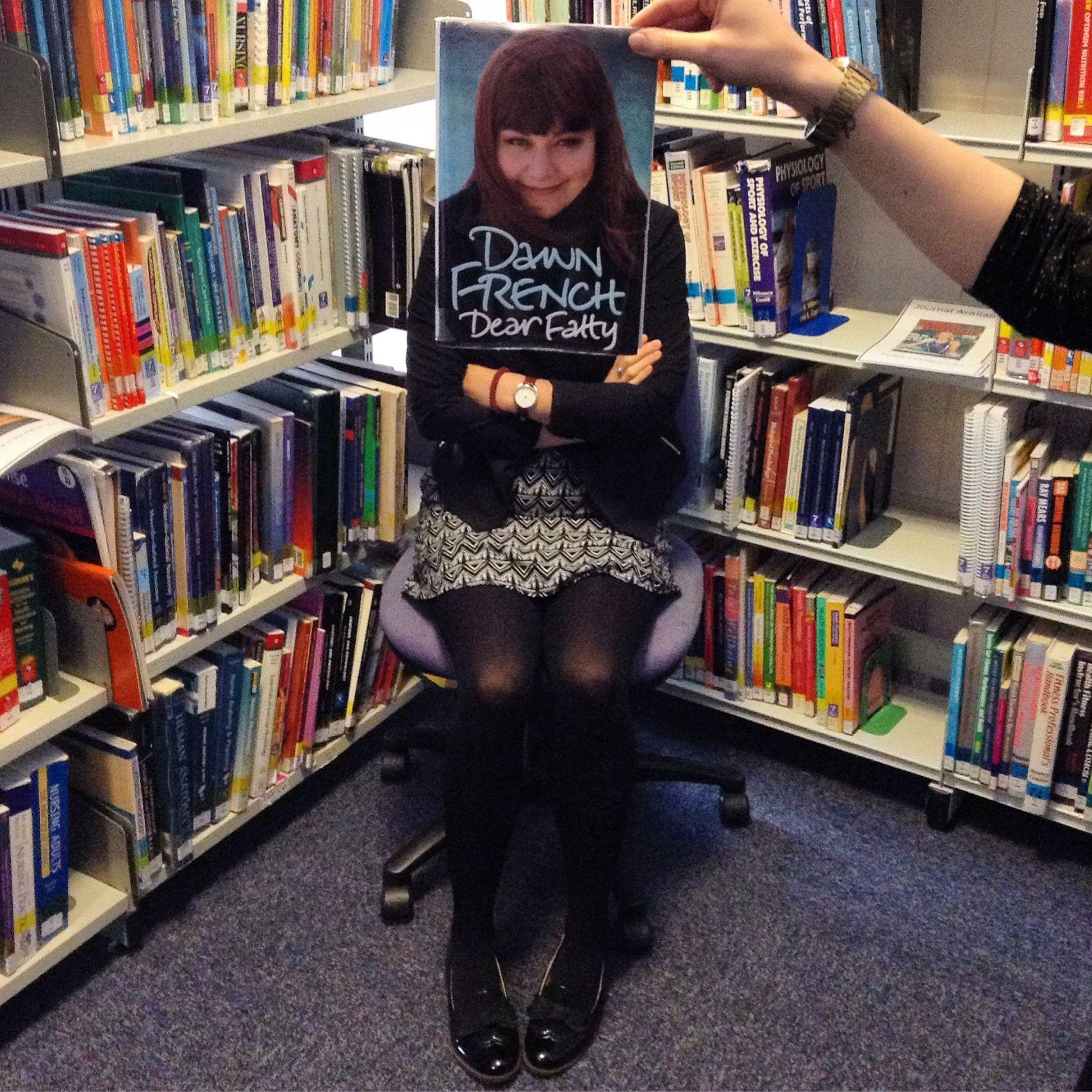 Dawn French #bookfacefriday South Devon College