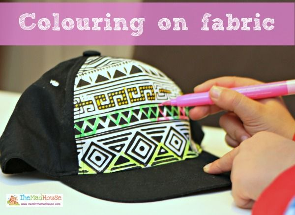Colouring on Fabric | Adult coloring, Color crafts and Fabrics
