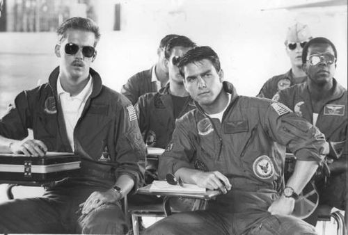 Top Gun's Goose and Maverick.