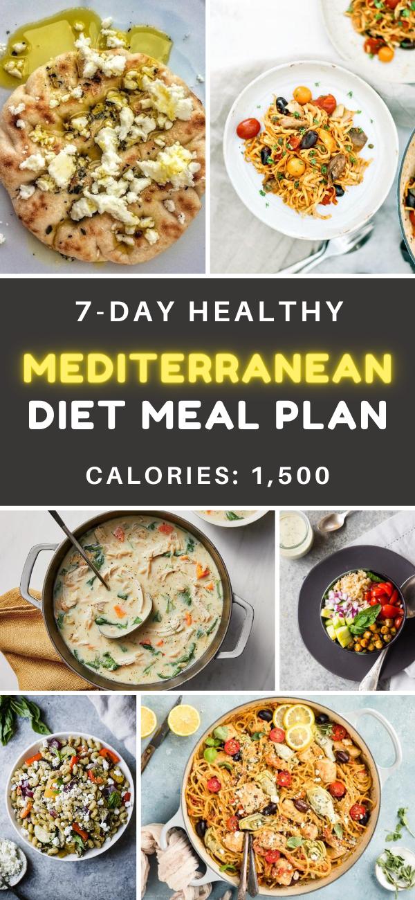 7 Day Mediterranean Diet Meal Plan 1 500 Calories Healthify Mediterranean Diet Recipes Mediterranean Diet Meal Plan Diet Meal Plans