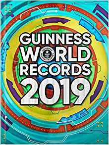 Guinness world record book 2019