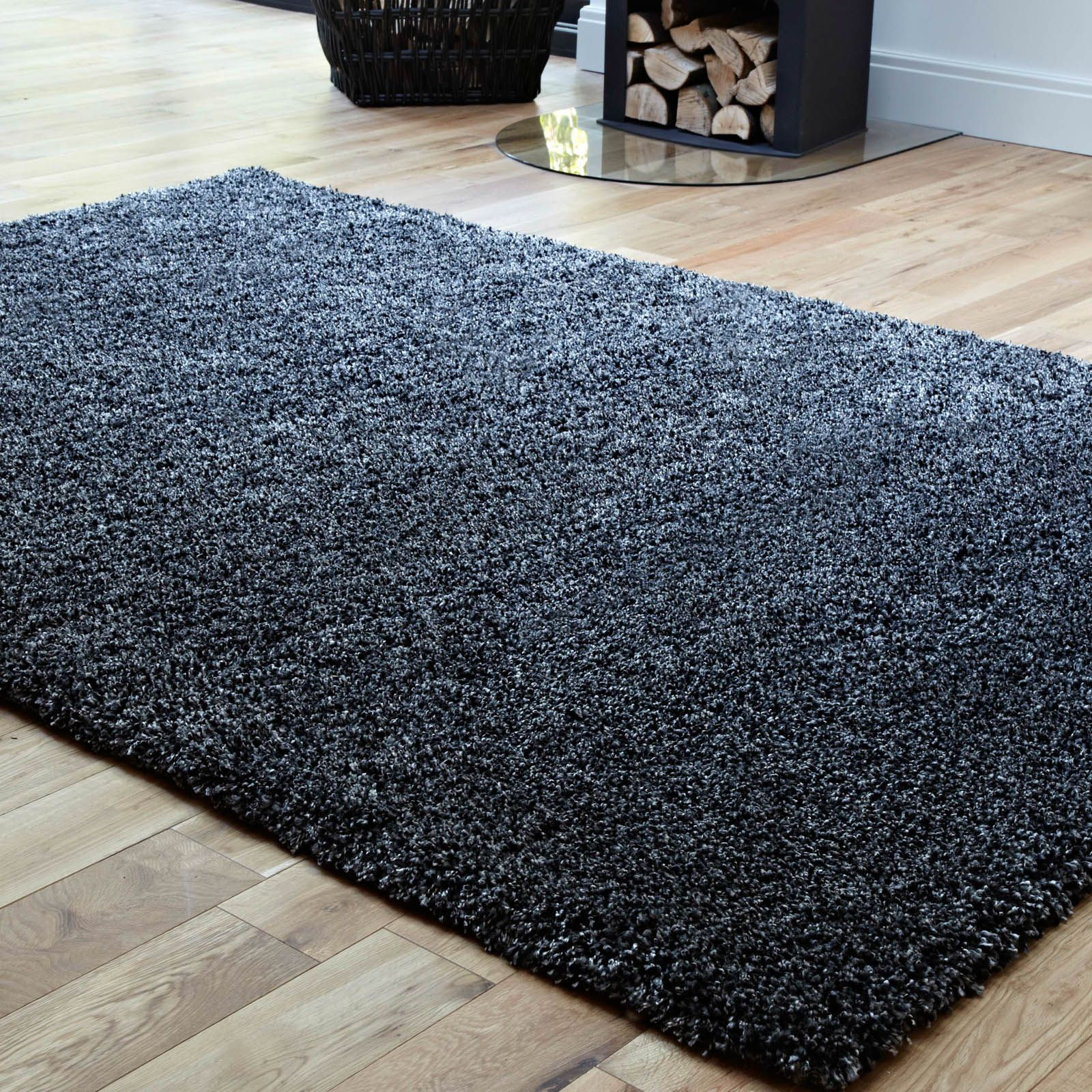 Purity Textures Rugs Ptx04 Charcoal Grey