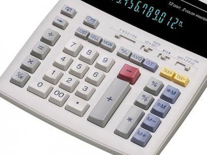 Calculadora Profissional com Impressora - Sharp EL-1801V com as melhores condições você encontra no Magazine Carlosdsousa. Confira!