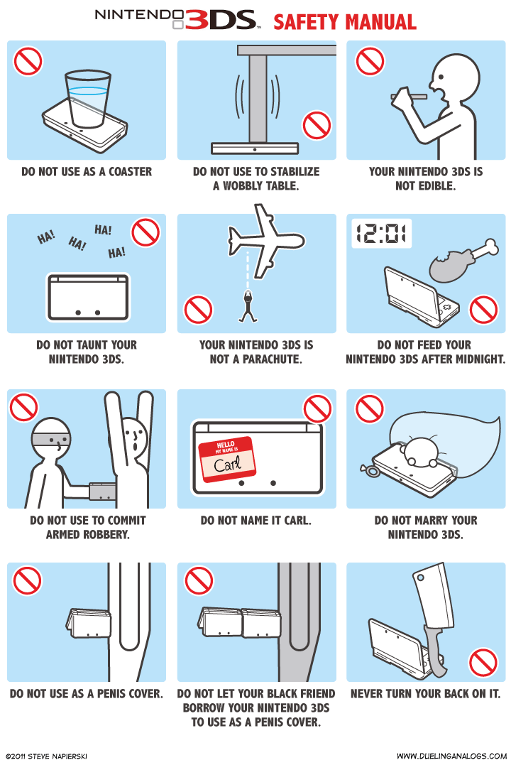nintendo 3ds safety manual products pinterest nintendo 3ds rh pinterest com nintendo 3ds instruction manual english Nintendo 3DS XL