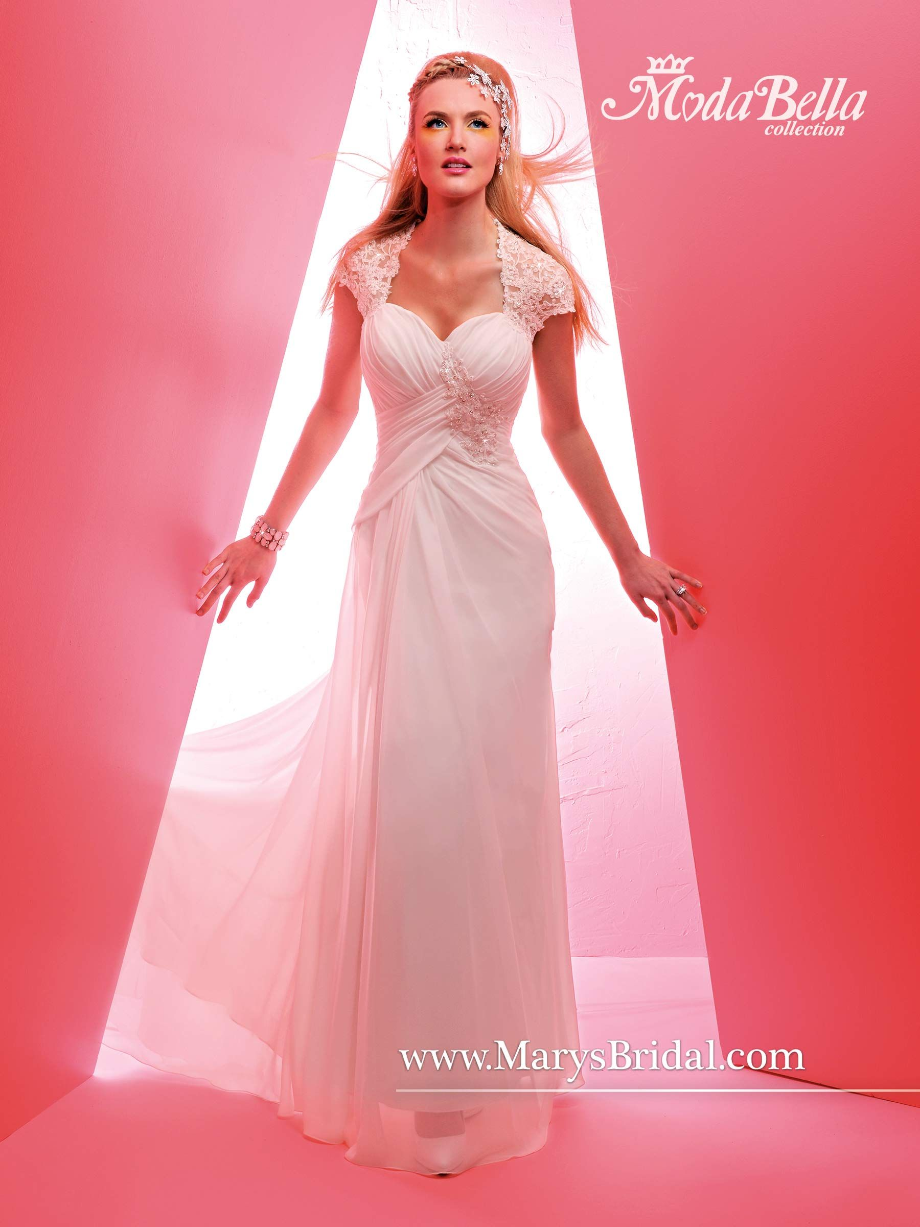Bridal Gowns - Moda Bella - Style: 3Y342 by Mary\'s Bridal Gowns ...