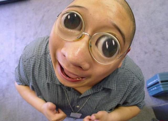 Weird People With Glasses 4