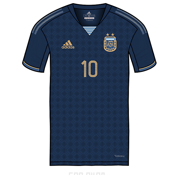 Argentina X Adidas Away Kit Concept By Canakr Soccer Outfits Jersey Design Football Kits