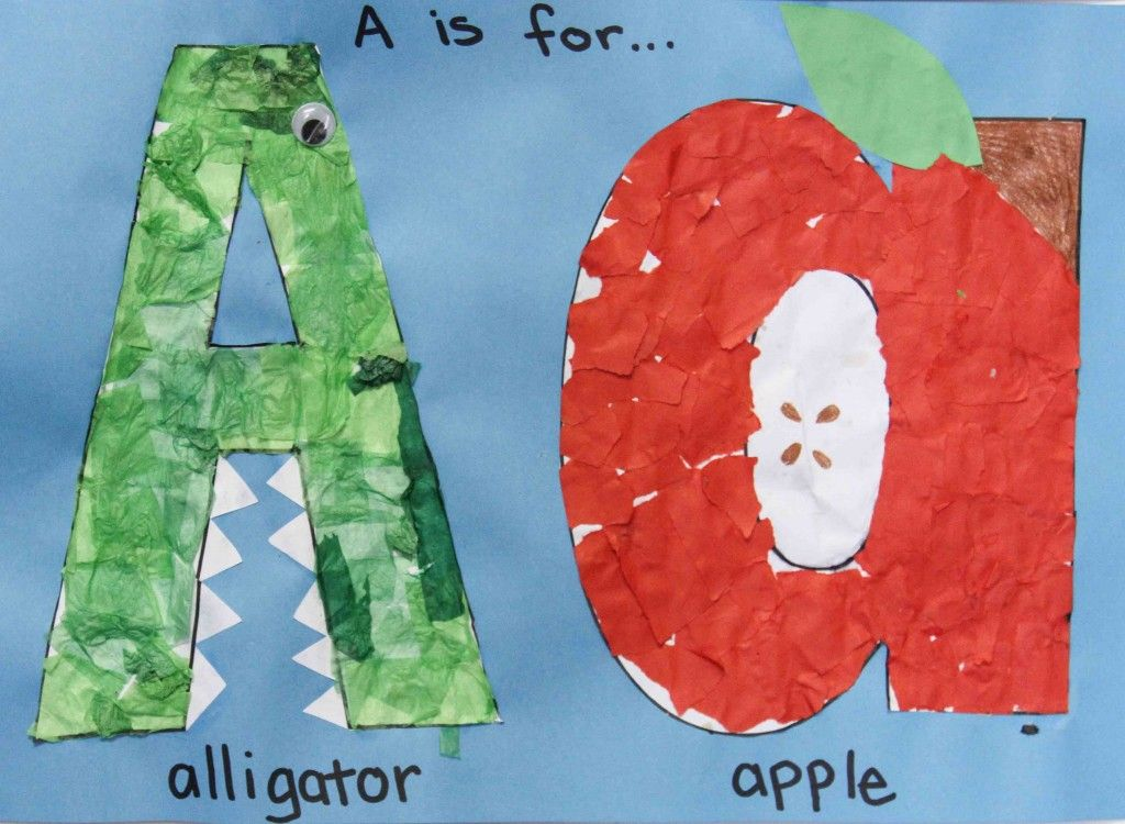 Preschool Letter A Preschool letters, Preschool art
