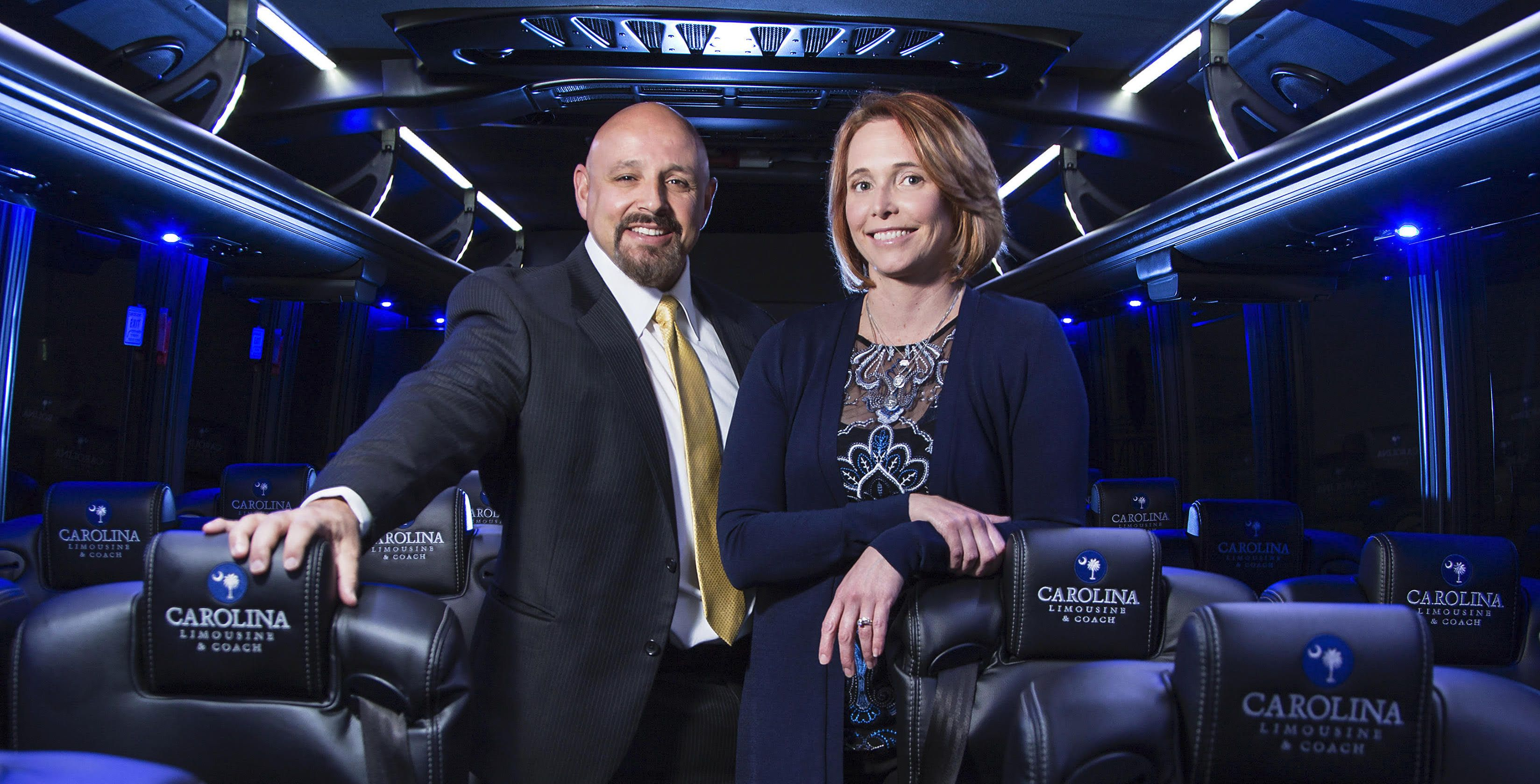 Carolina limousine coach where the journey is as