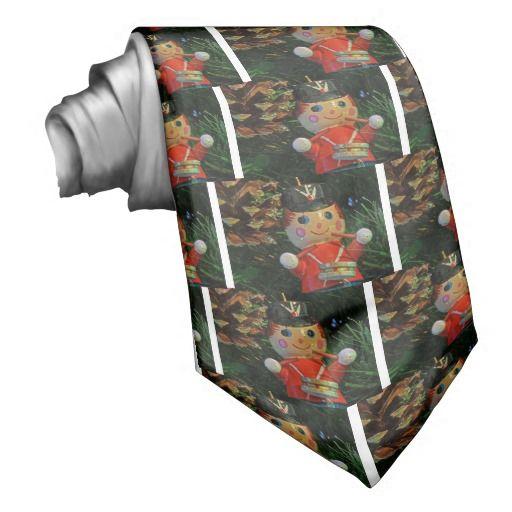 Sentimental Wedding Gift Ideas: Sold! Little Drummer Boy Ornament Necktie #neckties