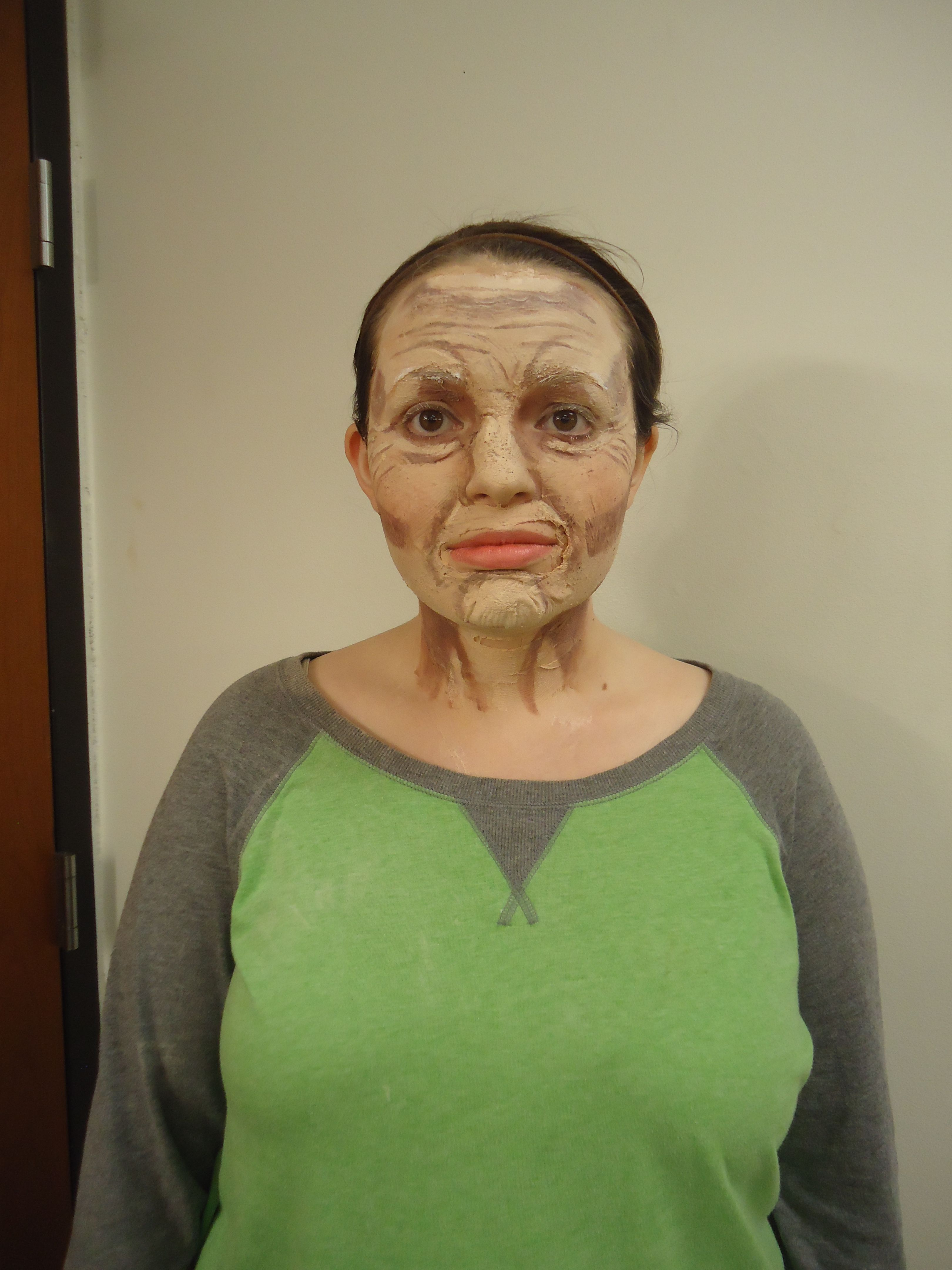 3D old age makeup designed and applied by me (Rachael Gibson