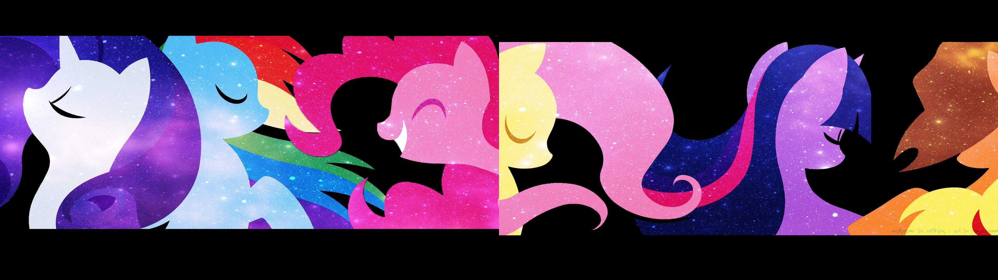 Applejack Rainbow Dash Fluttershy Rarity Pinkie Pie