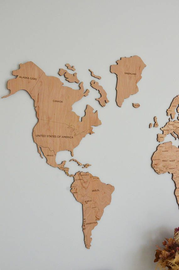 Scandinavian style office wall art for women man wooden world map home wall art wooden world map large map of the world travel gumiabroncs Image collections