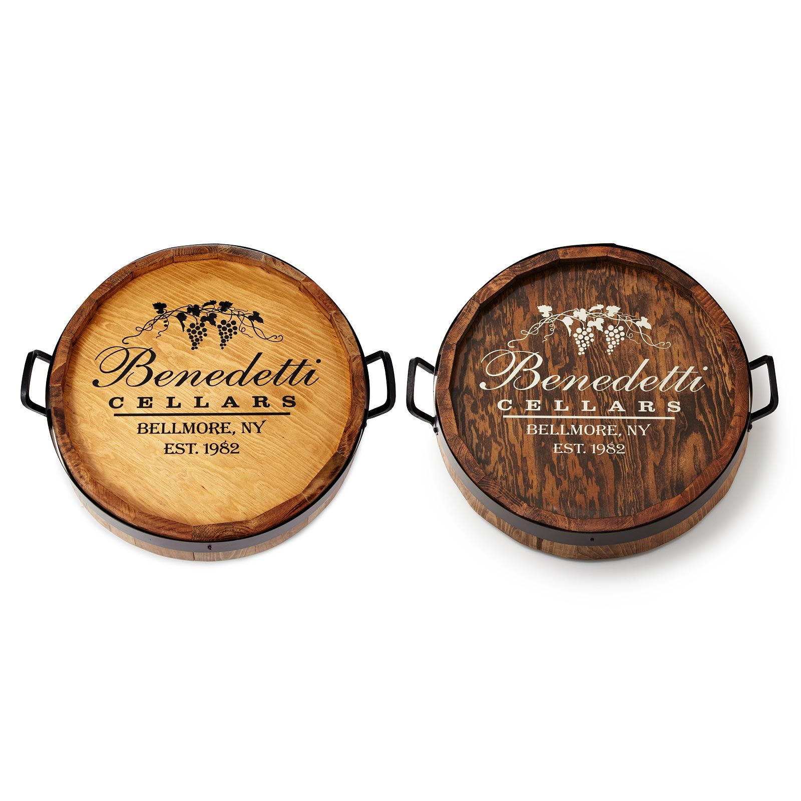 Personalized Lazy Susan Lazy Tabletop And Barrels