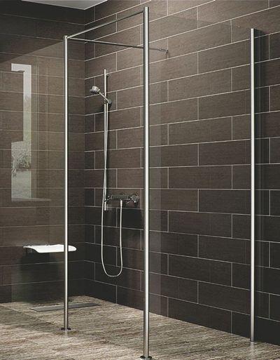 Douche italienne receveur de douche extra plat tout sur for Toute petite salle de douche