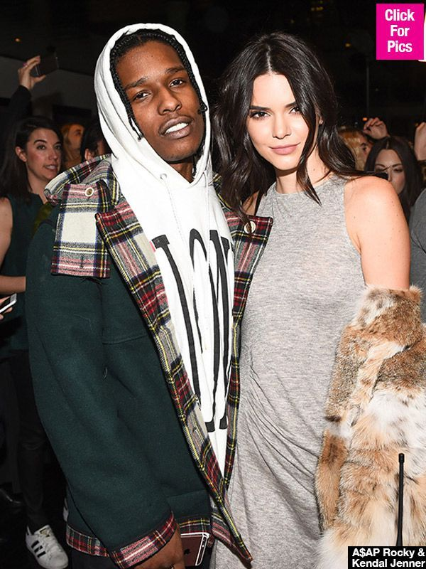 A$AP Rocky Lovingly Cheers On Kendall Jenner At Her 1st DJ