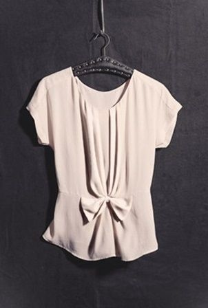 Bellatrix Bow Front Blouse @ Nordstrom